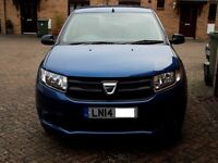 Dacia Sandero Ambience. Excellent and low mileage. Two lady owners. selling to get smaller car