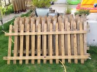 Alsford Picket fence panels, posts and feet