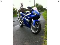 Yamaha YZF1000 R1 4xv model 1999 clean SH.