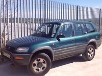 TOYOTA RAV-4 2.0 GX 5 DOORS AUTO PETROL GREEN