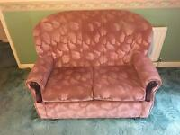 Two Seater Settee / Sofa / Couch