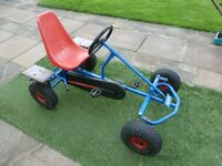 """BERG"" PEDAL GO KART ...........Cost over £400 new!"