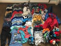Huge Bundle Boys Clothes 3-4 Jeans, Trousers, Tshirts, Shorts, Jumpers etc