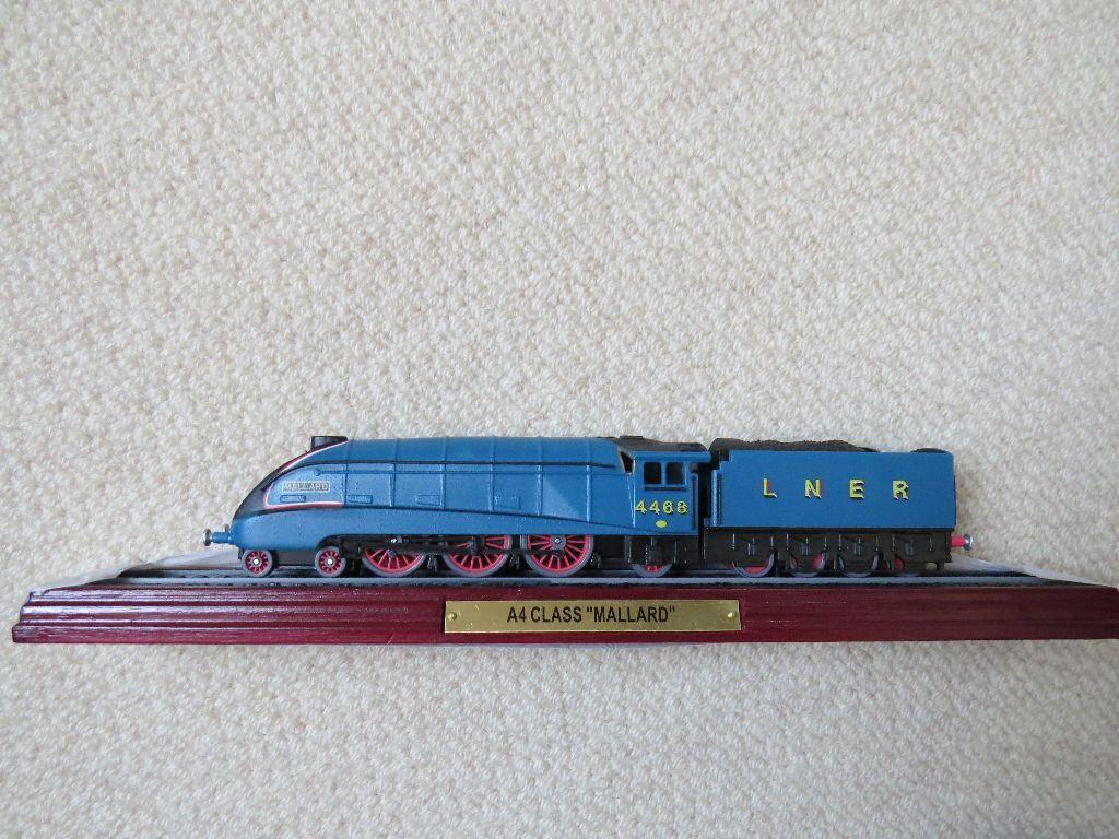 Model Train - Mallard A4 Class, Steam Locomotive from ... Mallard Train Toy