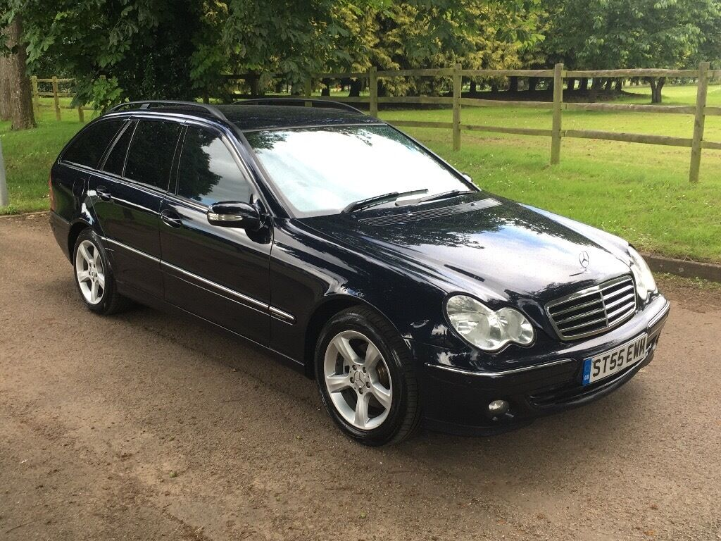 55 reg 2005 mercedes benz c class c220 cdi avantgrade 5 door estate in slough berkshire. Black Bedroom Furniture Sets. Home Design Ideas