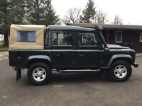 110 Land Rover defender XS double cab 2.4 Tdci