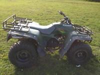 Kawasaki klf300 2WD farm quad