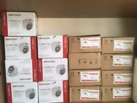 HIKVISION 2MP HD CCTV CAMERAS JOB LOT