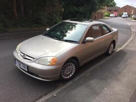 HONDA CIVIC COUPE ONE PREVIOUS OWNER