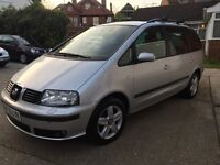 *AUTOMATIC* 2004 7 Seater MPV Alhambra 1.9 TDI SE TIPTRONIC*11 Months Mot *Only 1 Previous Owner
