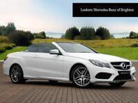 Mercedes-Benz E Class E220 BLUETEC AMG LINE (white) 2016-04-18