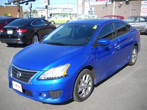 2015 NISSAN SENTRA 1.8 S - SUNROOF, NAVIGATION SYSTEM, REAR VIEW