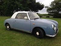 Nissan Figaro, Lapis Grey, 1991, excellent runner, in daily use