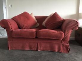 2 Seater sofas x 2
