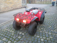honda trx 300 big red quad bike