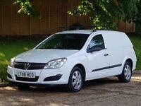 Vauxhall Astra 1.7 CDTI VAN + 2008/08 + NEW SHAPE + GENUINE 134K + VAN + NO VAT +