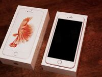 iPhone 6s Plus white/rose 128gb excellent condition *unlock to all network*