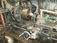 Atlas metal lathe ,240 volt, full working condition, power cross feed, £375