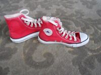 Converse High Tops size 3
