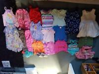 Huge girls clothes bundle mostly aged 3-4