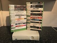 Xbox 360 60GB / 44 Games / Kinect / Afterglow Controller / Turtle beach X12 Headset / Remote