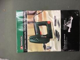 Parkside Electric Nailer + Staple Gun