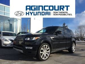 2015 Land Rover Range Rover Sport V6 HSE/SUPERCHARGED/22/NAVI/ON