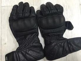 mcFit Racer leather gloves size XL