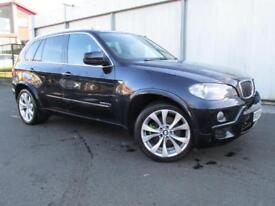 BMW X5 xDrive30d M Sport 5dr Auto [7 Seat] (black) 2009