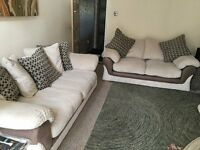 3 and 2 seater sofa for sale.