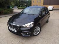 BMW 2 Series 218d Luxury Active Tourer 5dr (black) 2015