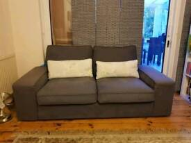 3 seater and two seater sofa Free local delivery