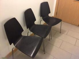 Dining Chairs - Set of 3