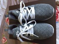 womens trainers sneakers grey APL ATHLETIC PROPULSION LABS UK5 38EU