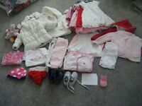 baby girls clothes bundle for 6 to 9 months