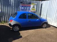 breaking for spares ford ka 1.3 only 35000 miles