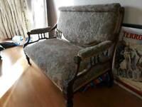 Edwardian antique sofa