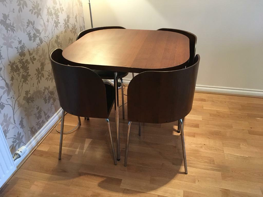 Ikea Fusion Table And Chairs In Springboig Glasgow