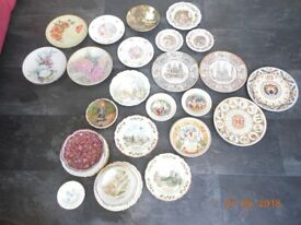 Collectable China Plates