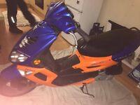 Peugeot SpeedFight 2 100cc 2Stroke 10Months MOT. May swap for 125geared bike or offers?