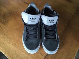 Black Adidas High Tops size UK 5