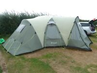 Family Tent Outwell Hertford XL Sleeps 8