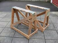 Wooden Trestles