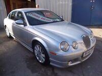 Jaguar S-TYPE,2.7 twin turbo diesel Sport 4 door saloon,2 previous owners,2 keys,FSH,full MOT,