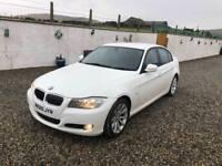 dec 2010 facelift white bmw 318 diesel