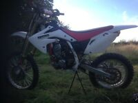 Honda crf 150r big wheel, pit bike crf kx kx kxf yz yz yzf rm rmz