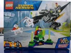 LEGO SALE!!! Super Heroes Superman & Krypto Team-Up - 76096
