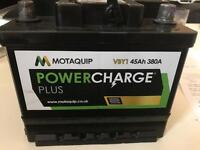Brand new battery for various cars