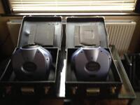 Dj lighting , Isolution ishow 4 150w hid version in cases