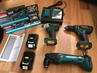 Makita lxt set combo and other bits